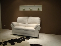 C136 Leather Sofa