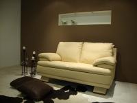 C139 Δερμάτινος καναπές