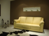 C208 Δερμάτινος καναπές (2/3θέσιος)