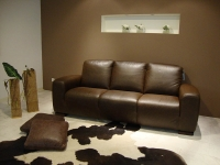 C225 Leather 3-seat Sofa